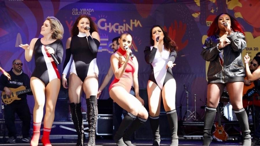 Rouge faz show empolgante na Virada Cultural de 2018 - Mariana Pekin/UOL