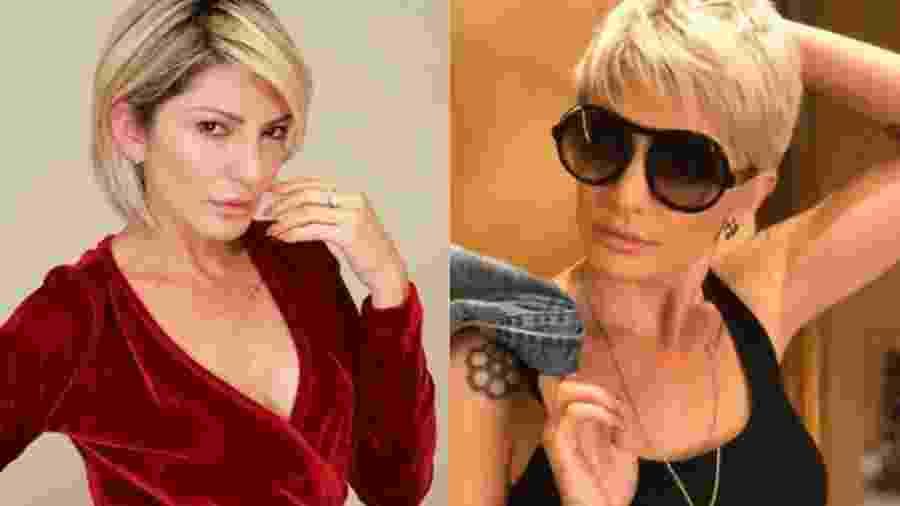 Antes e depois de Antonia Fontenelle - Reprodução/Instagram/ladyfontenelle