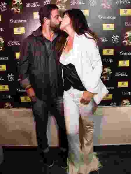 Cristiana Oliveira e seu namorado, Sérgio - Marcos Ribas/Brazil News