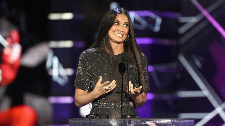 Demi Moore em evento em que trollou Bruce Willis - Frederick M. Brown/Getty Images
