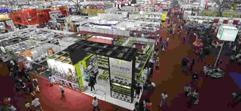 Vista geral da 24ª edição da Bienal do Livro de São Paulo, em 2016 - Nelson Antoine/Folhapress
