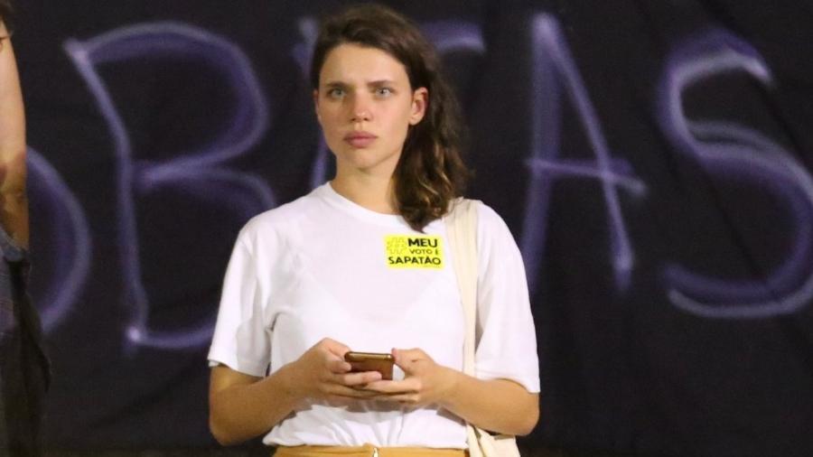 """Bruna Linzmeyer participa da marcha """"Ocupa Sapatão"""" na Cinelândia, Centro do Rio de Janeiro - Thiago Martins"""