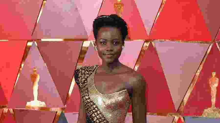 "Lupita Nyong""o, premiada atriz de cinema - Getty Images"