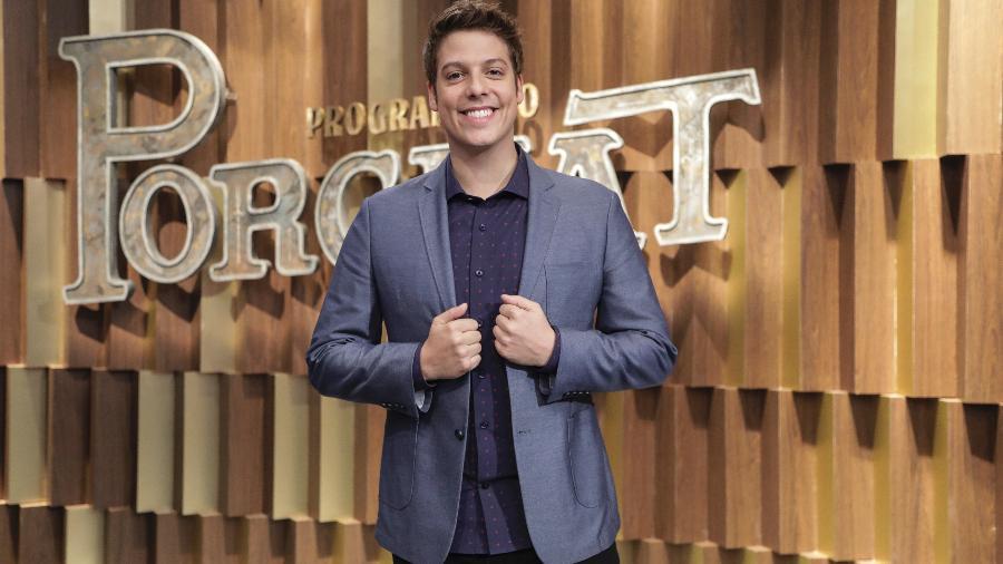 Após dois anos na Record, Fábio Porchat deixou a emissora no final de 2018 - Edu Moraes/ Record TV