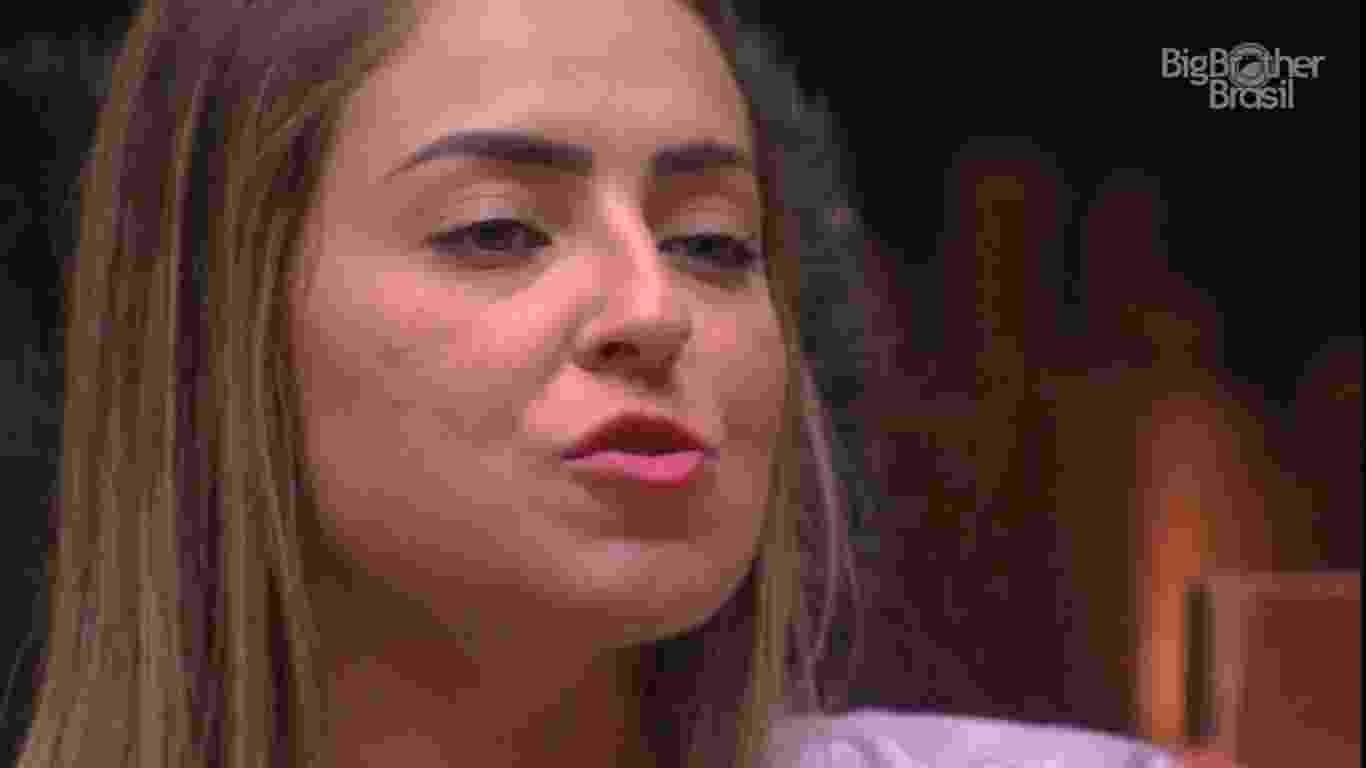Paula comenta sobre votos dos brothers - Reprodução/TvGlobo