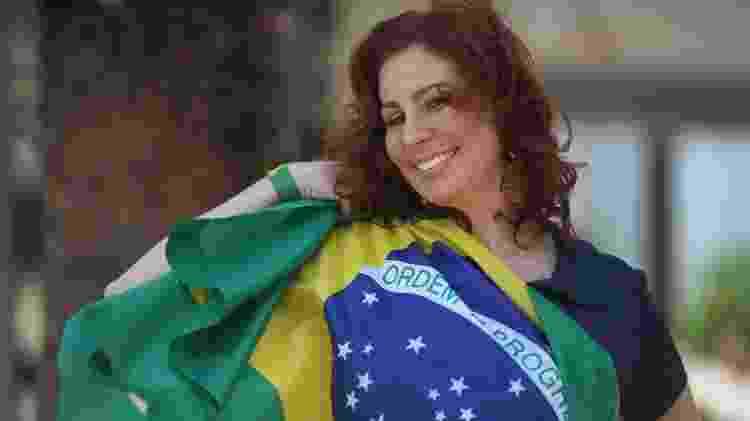 A deputada Carla Zambelli tem defendido as manifestações no domingo - Sérgio Dutti/UOL