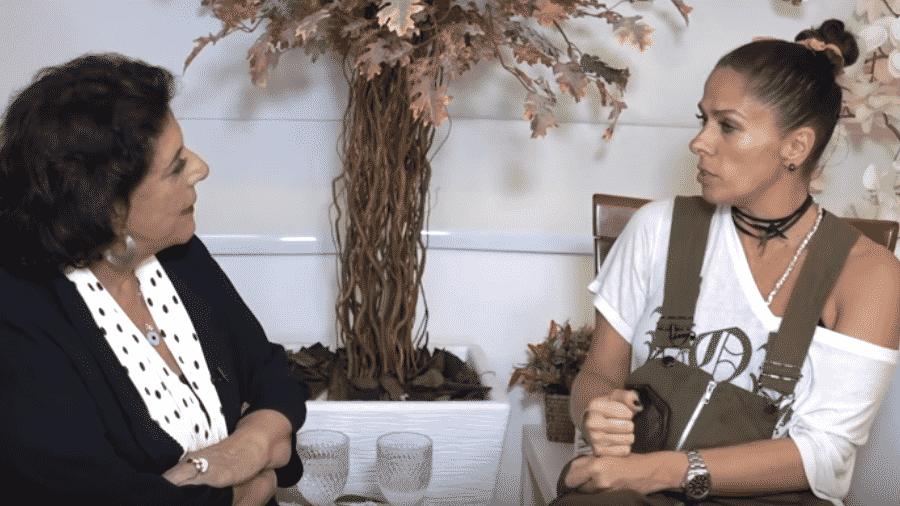 Leda Nagle entrevista Adriane Galisteu - Reprodução/Instaram