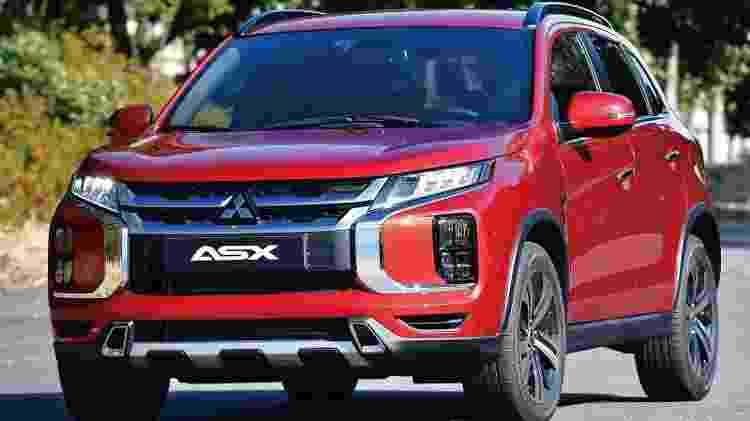 Mitsubishi ASX - Divulgação - Divulgação