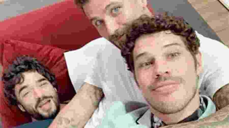 Caio Blat, Bruno Gagliasso e José Loreto - Reprodução/Instagram