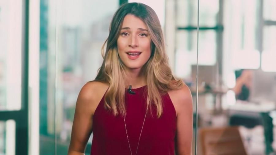 Bettina Rudolph, a garota-propaganda milionária de uma empresa de investimentos - Reprodução/YouTube