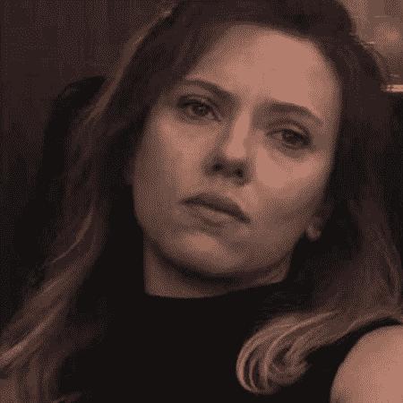 """Viúva Negra com olhar de tristeza em """"Ultimato"""" - Reprodução"""
