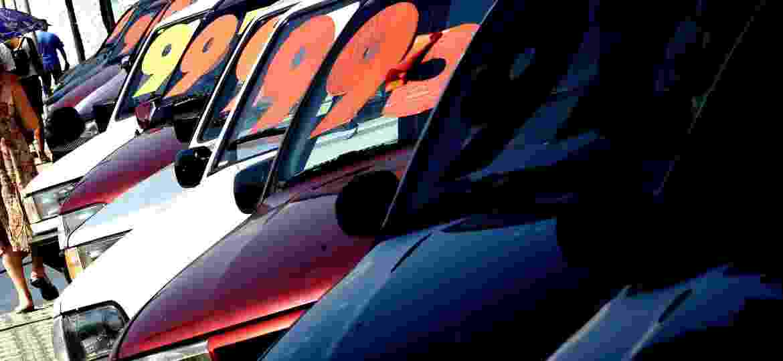 Pesquisa indica que vendas de veículos novos e usados subiram nos últimos meses - Juca Varella/Folha Imagem