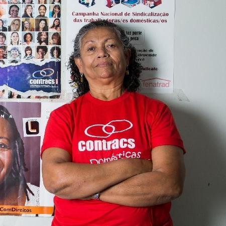 Luiza Batista, presidente da Federação Nacional das Trabalhadoras Domésticas - Clara Gouvêa/UOL