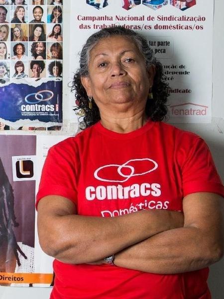 Luiza Batista é presidente da Federação Nacional das Trabalhadoras Domésticas - Clara Gouvêa/UOL