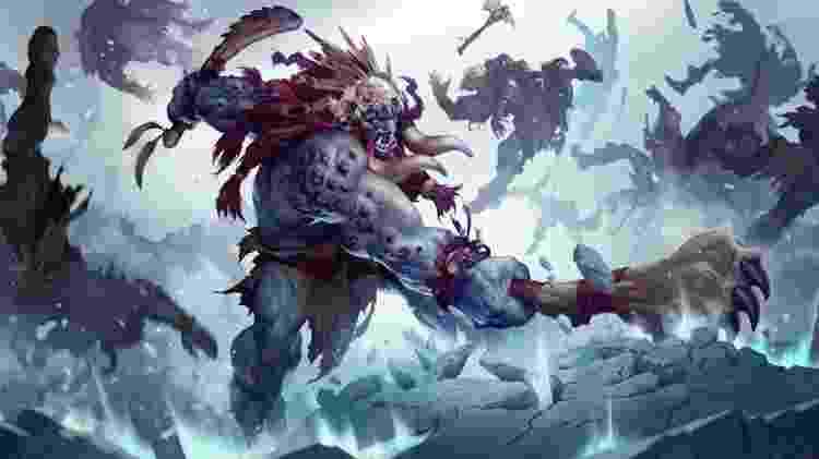 Trundle Legends of Runeterra - Divulgação/Riot Games - Divulgação/Riot Games
