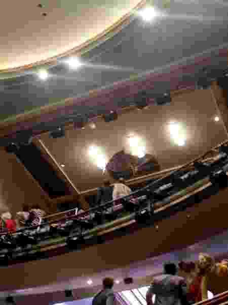 Teto do Piccadilly Theatre de Londres caiu durante apresentação - Kieran Dunn/via REUTERS