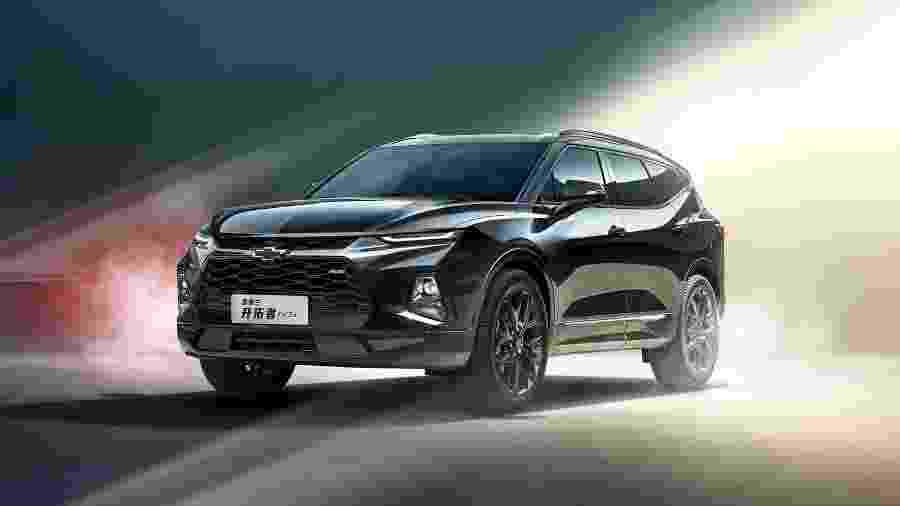 Chevrolet Blazer 2020 China - Divulgação