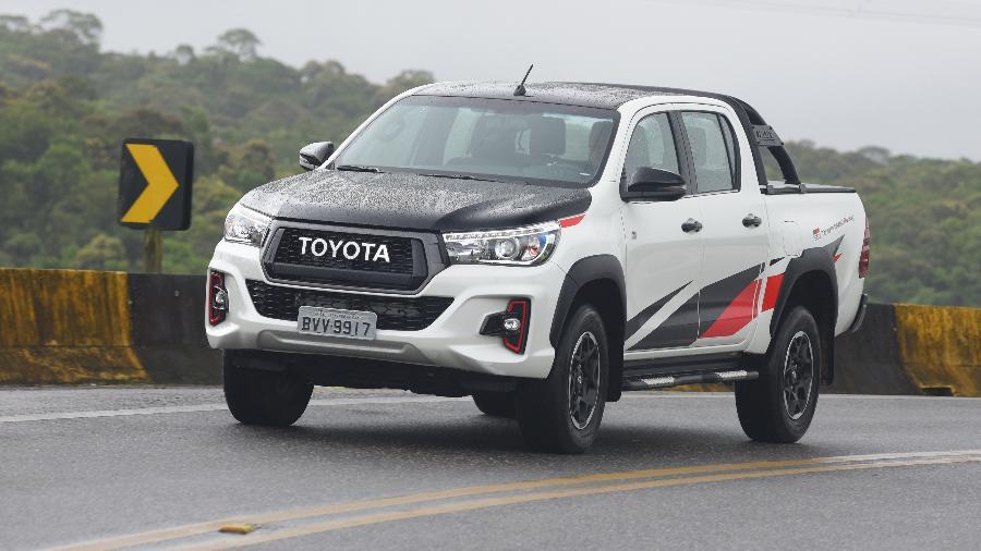 Toyota Hilux adquirida zero-quilômetro em janeiro de 2019 teve valorização de 0,55% em dezembro do mesmo ano, diz KBB - Murilo Góes/UOL