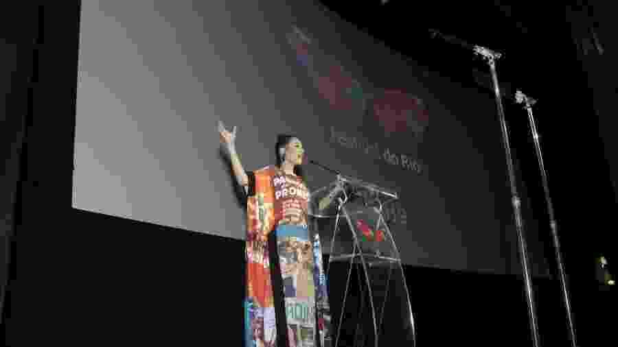 Abertura da 21ª edição do Festival do Rio foi no Cine Odeon - Centro Cultural Luiz Severiano Ribeiro, na Cinelândia, centro do Rio - Thyago Andrade/Brazil News