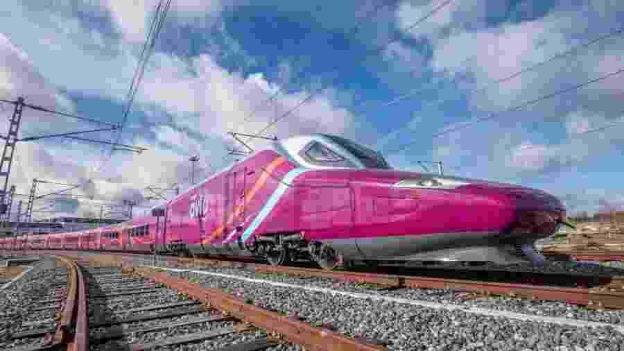 Avlo, trem-bala low coast da empresa espanhola Renfe - Reprodução/Instagram/@renfe