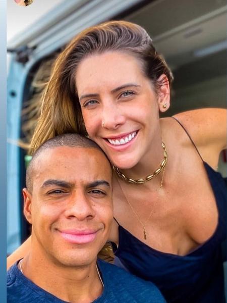 Thiago Oliveira e Bruna Matuti - Reprodução/Instagram