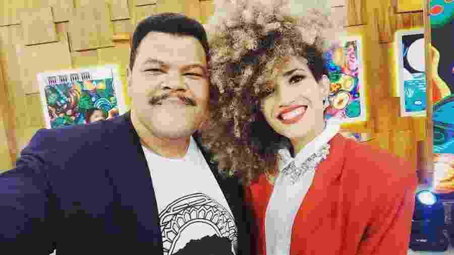 Babu e a namorada Tatiane - Instagram/Reprodução