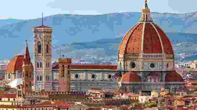 """A Catedral de Santa Maria del Fiore, o """"Duomo"""" de Florença, na Itália - Getty Images/iStockphoto"""