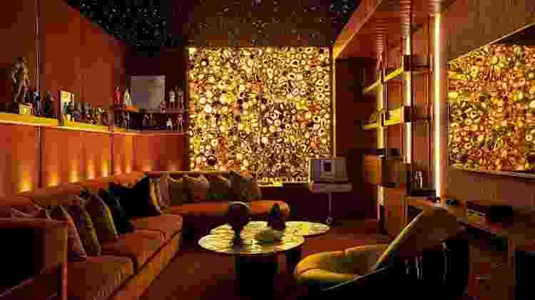 Uma das salas da mansão de Drake, no Canadá - Jason Schmidt/Architectural Digest - Jason Schmidt/Architectural Digest