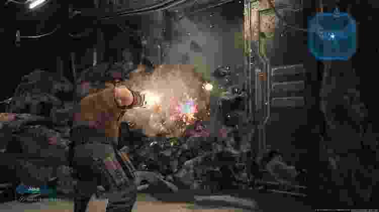 Final Fantasy VII Barret - Reprodução - Reprodução