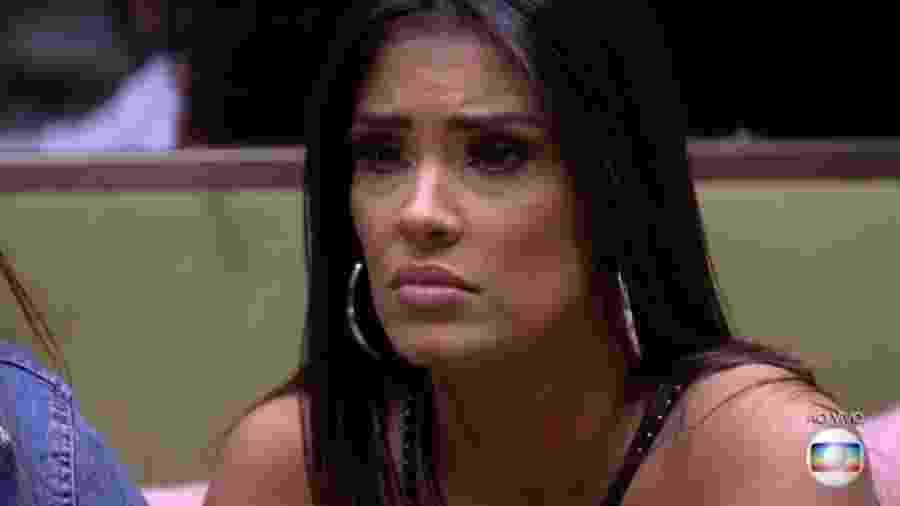 """Ivy foi eliminada do """"BBB"""" - Reprodução/TV Globo"""