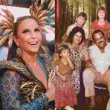 Ivete Sangalo e sua família - Reprodução / Instagram