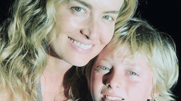 Angélica posou com filho do meio, Benício, para comemorar 13 anos do menino - Reprodução/Instagram/@angelicasky - Reprodução/Instagram/@angelicasky