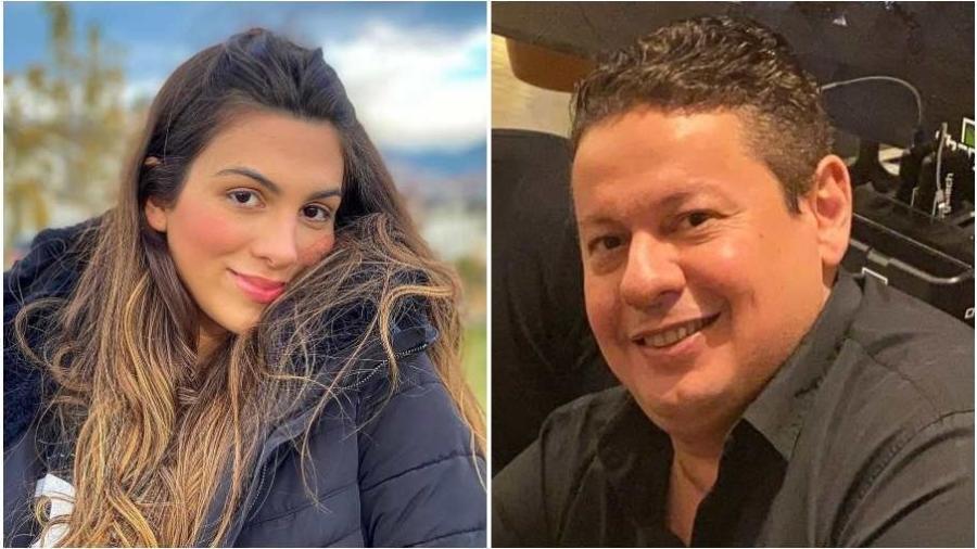 Pétala Barreiros e Marcos Araújo: ela o denunciou por agressão, ele foi à Justiça lutar pelo silêncio dela. - Reprodução/Instagram