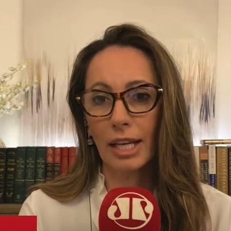Ana Paula Henkel fez afirmação durante programa da Jovem Pan - Reprodução/Youtube