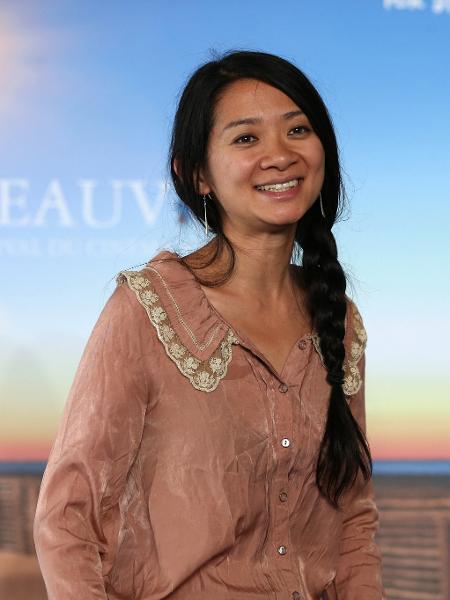 """Chloe Zhao é diretora de """"Nomadland"""" e foi indicada ao prêmio da DGA - CHARLY TRIBALLEAU/AFP"""