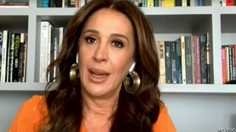 Claudia Raia comentou suposto affair entre Bruna Marquezine e Enzo Celulari - Reprodução/TV Globo