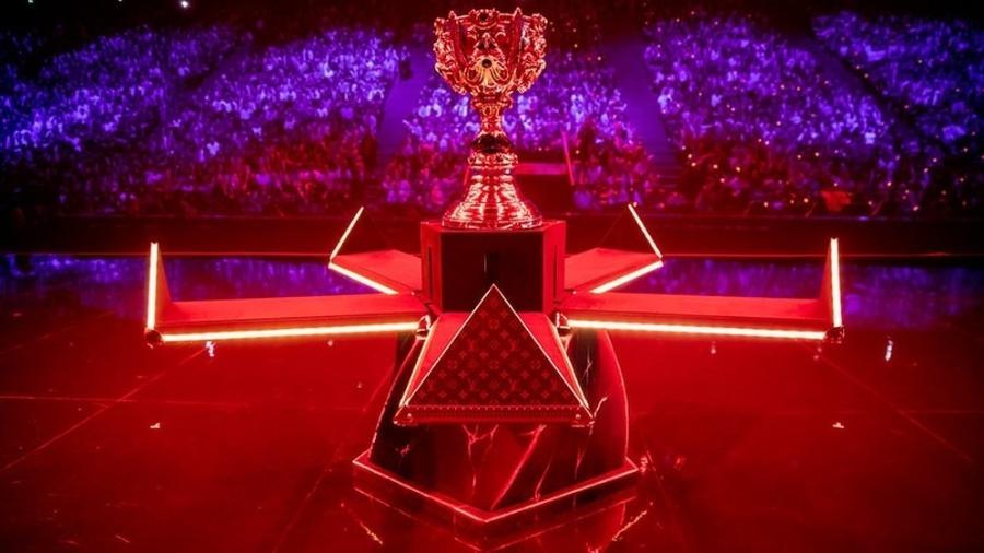 Troféu Worlds Louis Vuitton - Divulgação/Riot Games