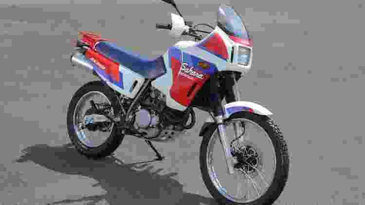 Honda NX 350 Sahara - Divulgação - Divulgação