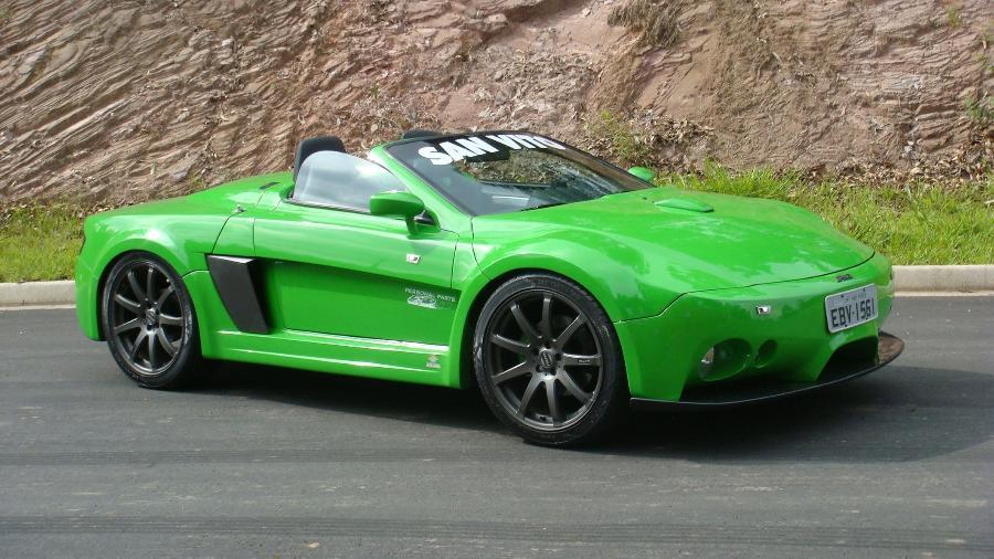 San Vito S1 foi apresentado em 2009 teve apenas um protótipo produzido e nunca ganhou produção em série. Traz motor 1.8 turbo de 150 cv - Divulgação