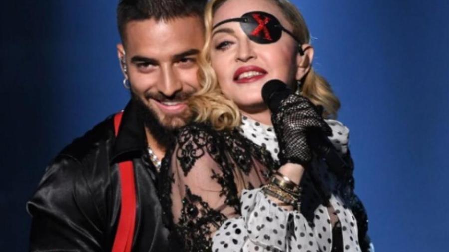 Maluma e Madonna - Reprodução/Instagram