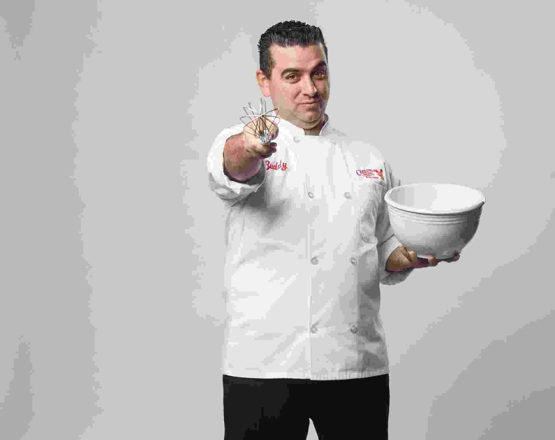 """O confeiteiro Buddy Valastro, das séries """"Cake Boss"""" e """"A Batalha dos Confeiteiros"""",terá como missão escolher um sócio brasileiro no programa - Edu Moraes/Record"""