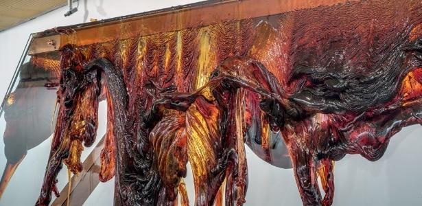Obra Choro Negro, de Nuno Ramos - Mario Grisolli