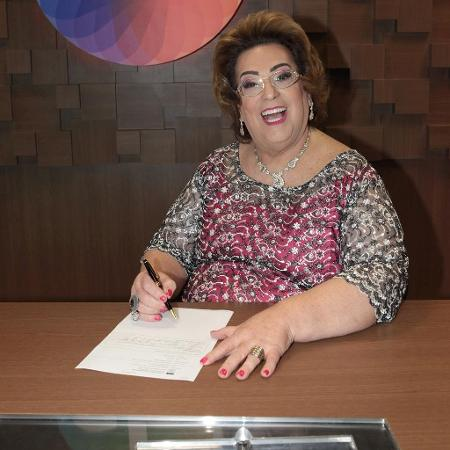 Mamma Bruschetta comenta jejum de sexo - Leonardo Nones/SBT