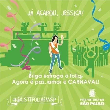 Campanha da Prefeitura de São Paulo sugeria ignorar agressões no Carnaval - Reprodução/Facebook