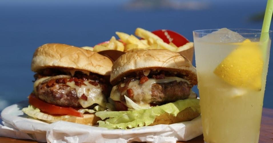 hambúrguer gourmet de Mario Gomes