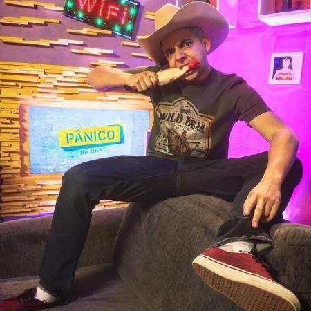 """O youtuber e integrante do """"Pânico"""", Lucas Selfie - Reprodução / Facebook"""