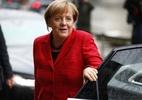 Angela Merkel tem visão sombria sobre o colapso da ordem mundial, mas faz pouco para mudar - AFP