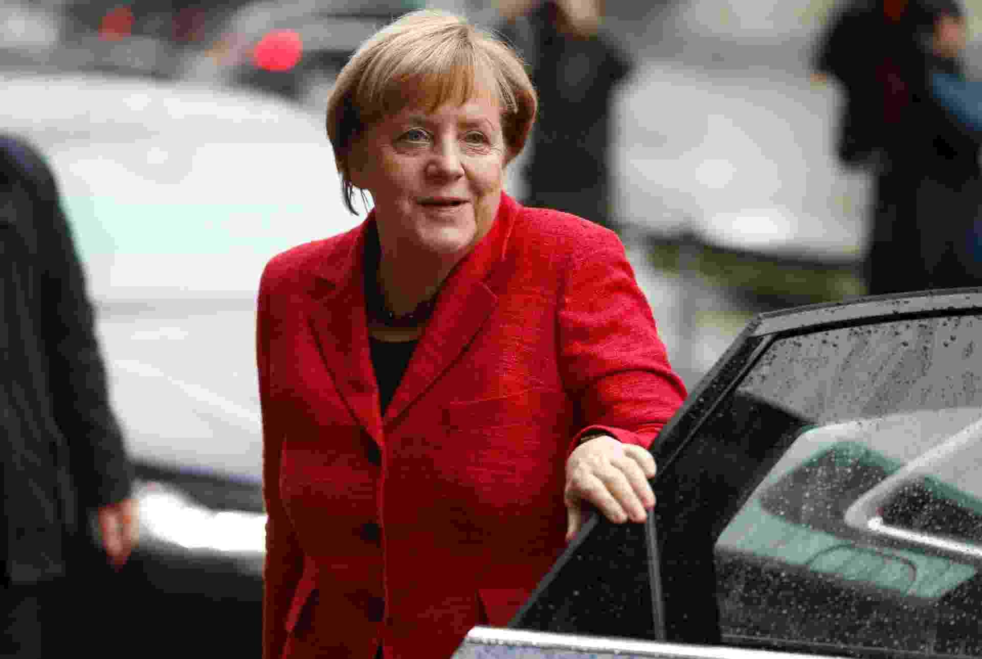 Angela Merkel, chanceler federal alemã - AFP