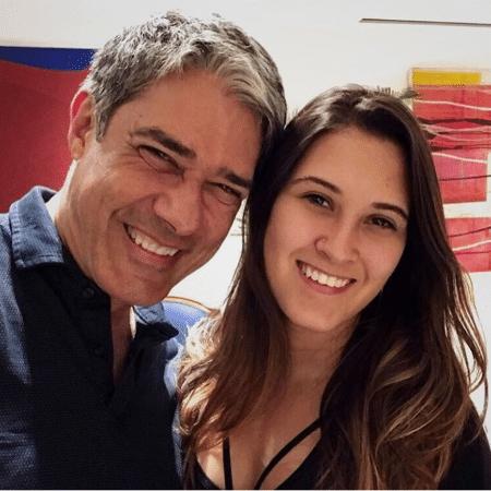 William Bonner e a filha, Beatriz Bonemer - Reprodução/Instagram/biabonemer