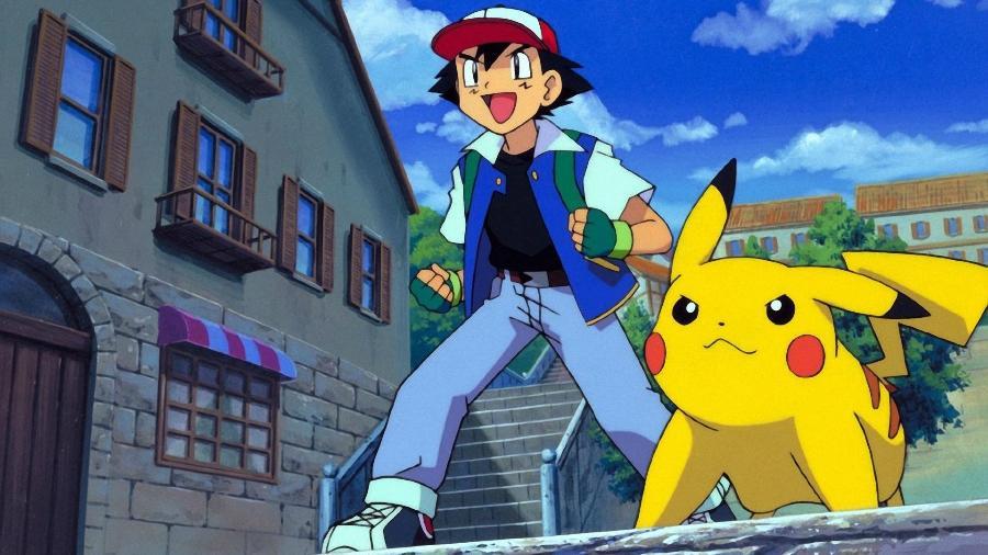Ash e Pikachu em Pokemon - Reprodução